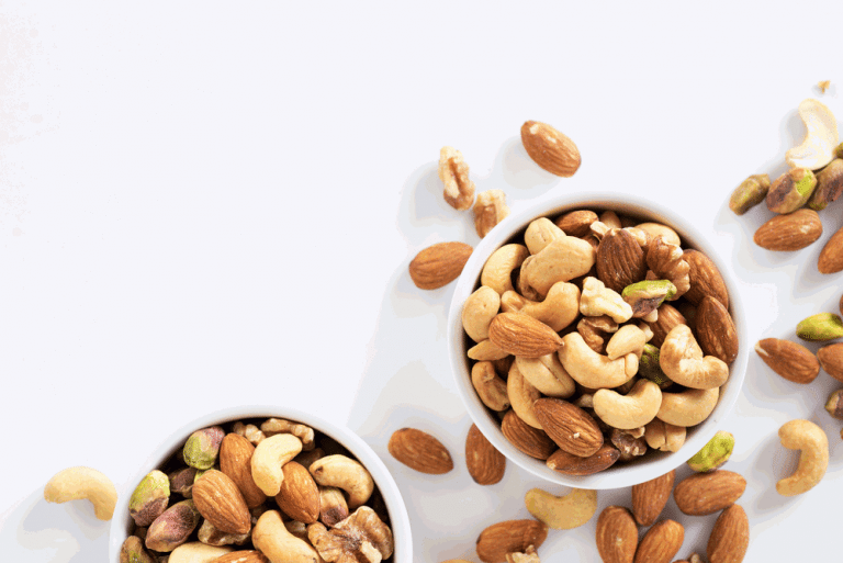 eat Nuts for burning fat
