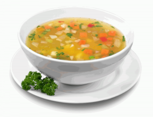 Soups for burning fat and weight