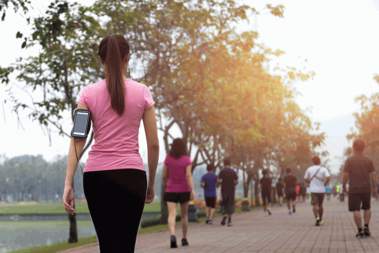 Walking unless jogging remove breast sagging