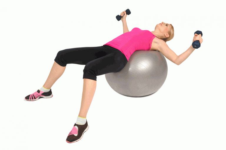 Dumble Chest Press To tighten saggy breast